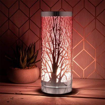 aroma lamp pink