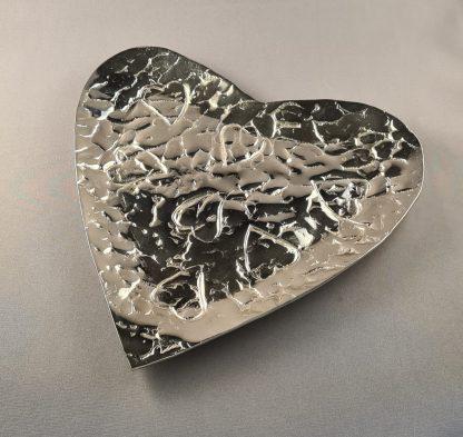 silver heart bowl