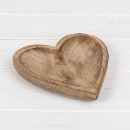 small wooden plate