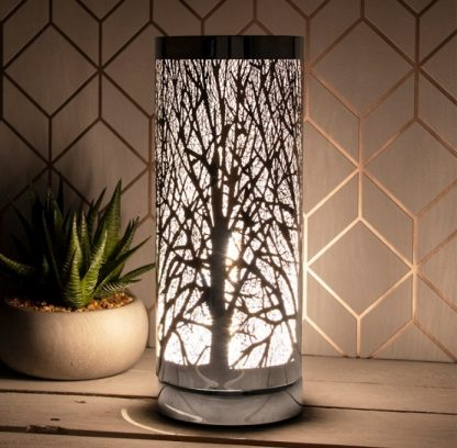 aroma lamp silver