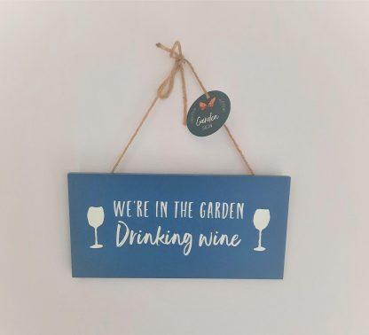 wooden plaque wine