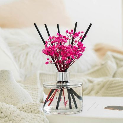 reed diffuser pink