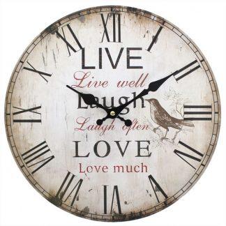 wall clock live