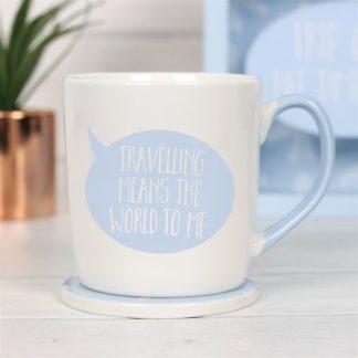 travelling mug