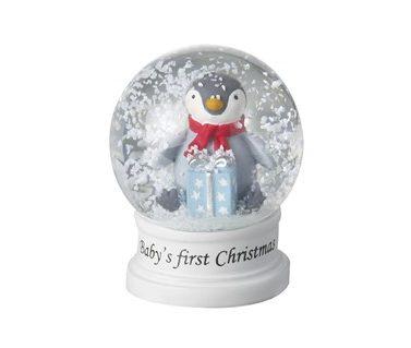 babys first snow globe